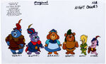 Gummi Bears Color Model Cel