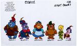 Gummi Bears Color Model Cel