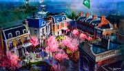 Mary Poppins Epcot Art 01