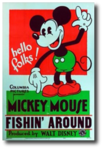 Fishin around poster