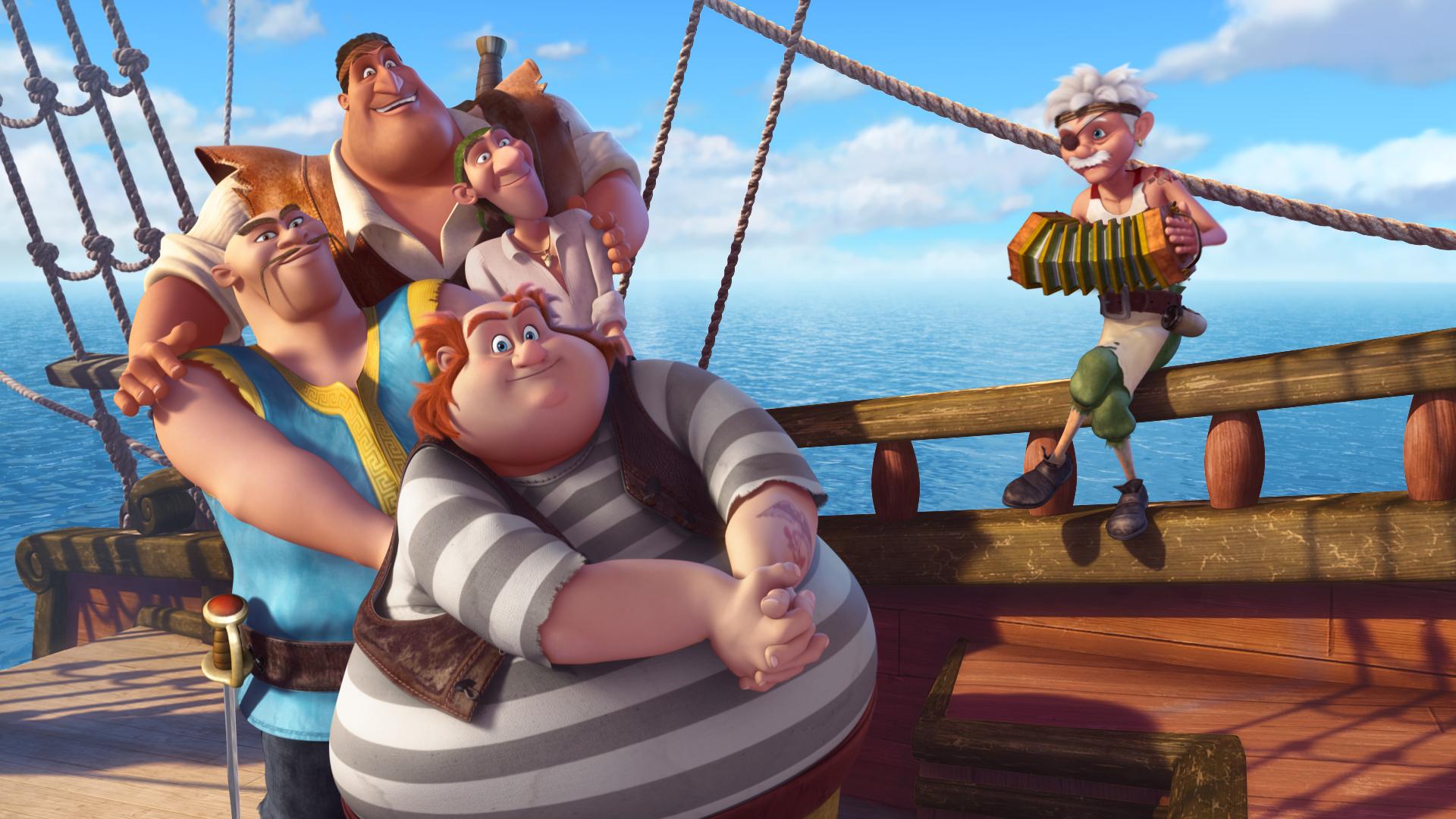 Pirate Crew (The Pirate Fairy)