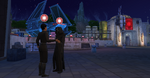 The Sims 4 SW Journey to Batuu - Kylo and First Order officer on Batuu