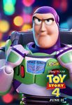Toy Story 4 character poster - Buzz Lightyear