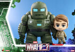 What If Cosbaby Bobble-Heads - The HYDRA Stomper & Steve Rogers