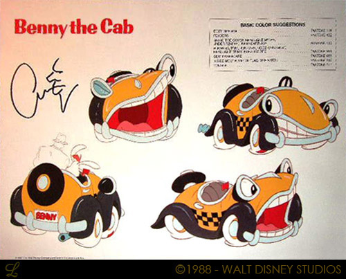 Benny the Cab/Gallery