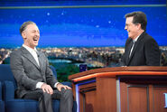 Alan Cumming visits Stephen Colbert