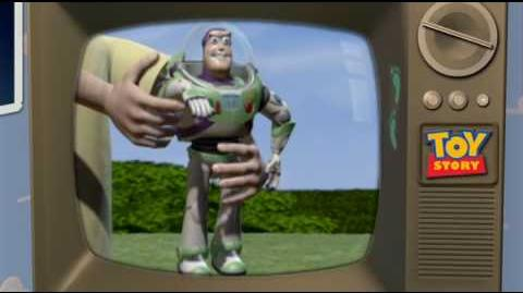 Buzz Lightyear TV Commercial - Toy Story DVD Easter Egg