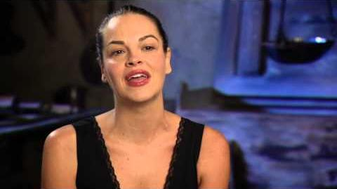 """Into the Woods Tammy Blanchard """"Florinda"""" Behind the Scenes Movie Interview"""