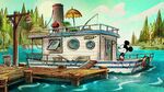 Mickey Mouse Surprise! Donald Duck Houseboat