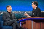 Rob Lowe visits Stephen Colbert