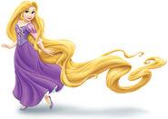 Rapunzel long hair