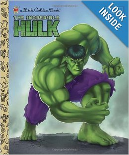 The Incredible Hulk (Little Golden Book)