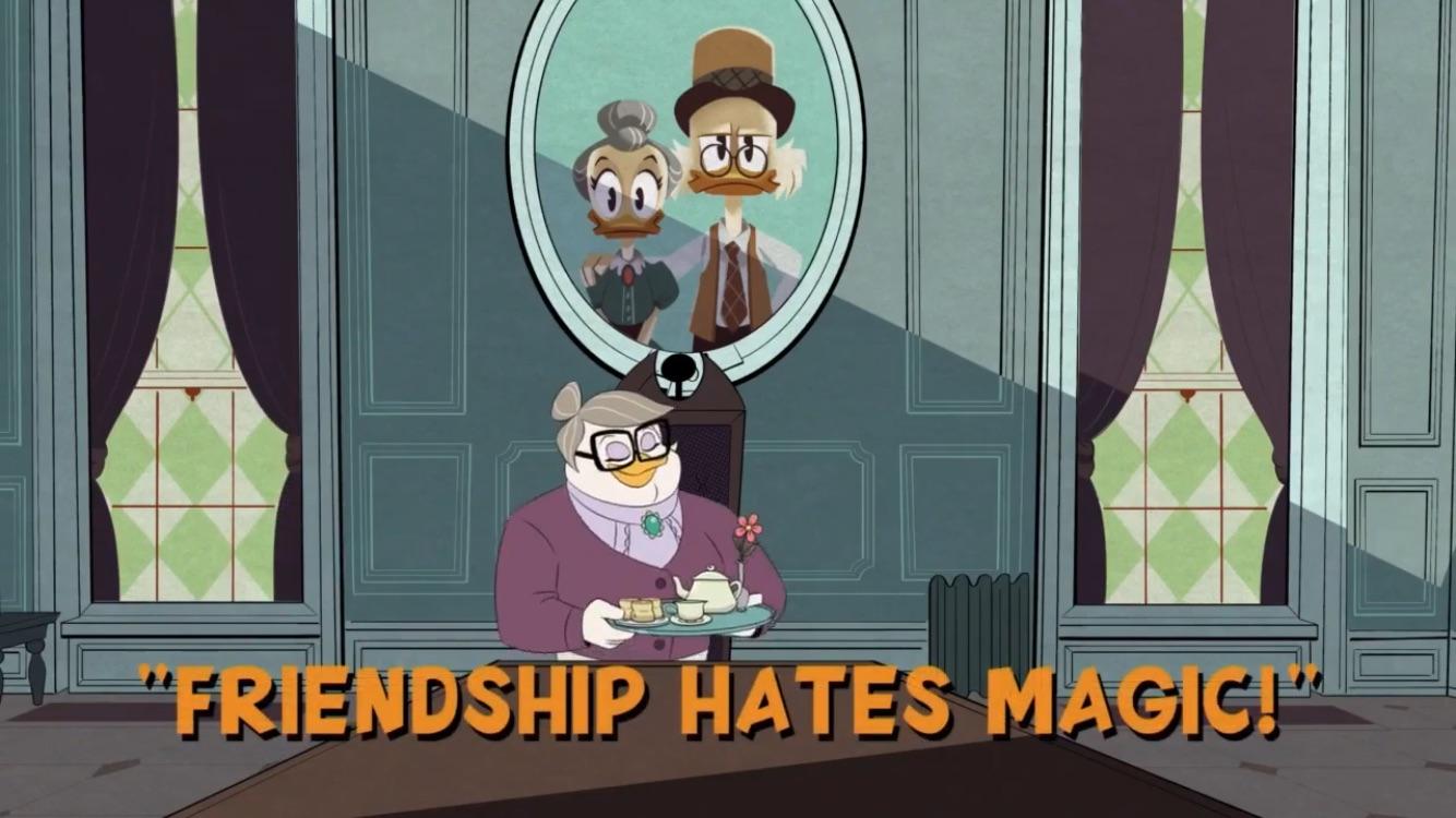 A Amizade Detesta Magia!