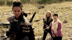 Once Upon a Time - 2x02 - We Are Both - Mulan, Emma and Mary Margaret.png