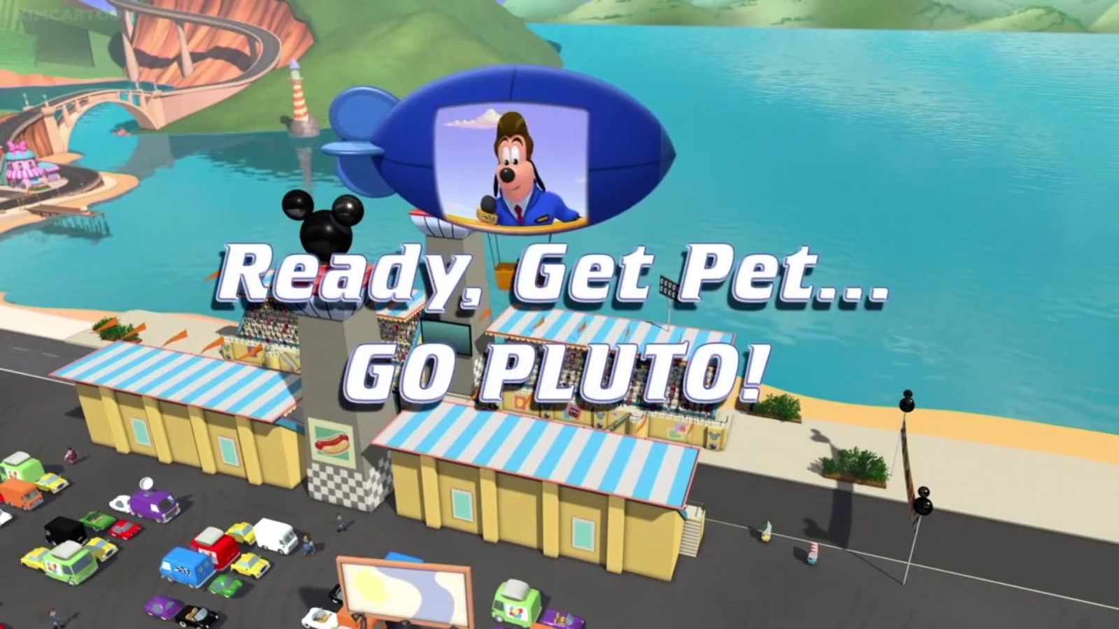 Ready, Get Pet... Go Pluto!