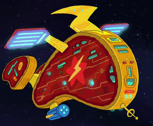 Steak Starbolt's ship
