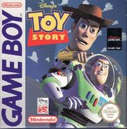 Toy Story Gameboy Cover