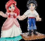 Disney Princess figures - Ariel and Eric