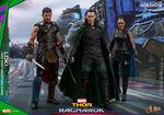 Hot-toys Thor Ragnarok - Thor, Loki and Valkyrie