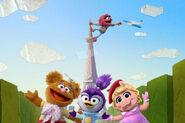 Muppet Babies 2018 Eiffel Tower