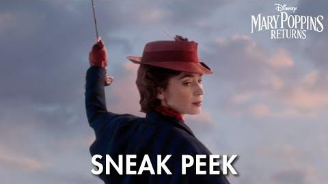 Sneak Peek Mary Poppins Returns