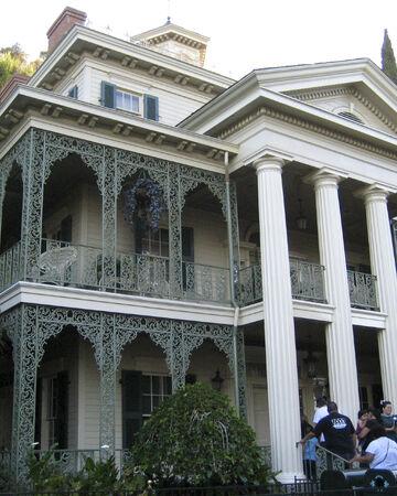The Haunted Mansion Attraction Disney Wiki Fandom