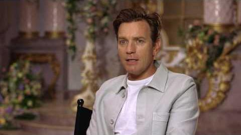 Beauty and the Beast Ewan McGregor Official Movie Interview