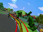 Disney Coaster Gameplay