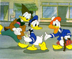 Donald and two other ducks - The Sprit of '43 (1943)