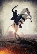 John Reid on Silver Textless Poster