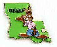Louisiana Pin