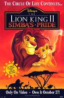 The Lion King II-Simba's Pride poster