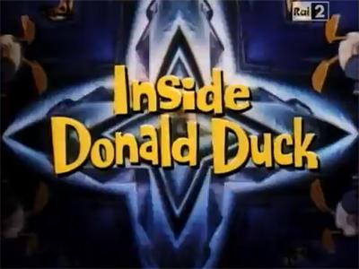 Inside Donald Duck
