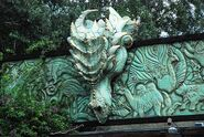 Dragon Statue entrance