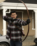 Once Upon a Time - 5x17 - Her Handsome Hero - Publicity Images - Gaston Shooting 2