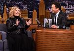Roseanne Barr visits Jimmy Fallon