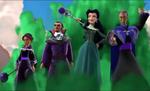 Shuriki, Fiero, Victor & Carla attack