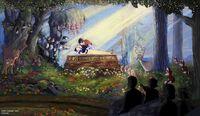 Snow white kiss finale