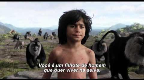 Trailer oficial Mogli - O Menino Lobo - 14 de abril nos cinemas