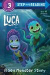 Luca A Sea Monster Story Book