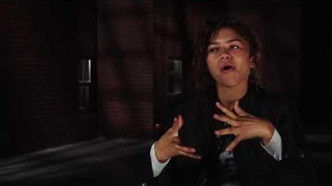 """Spider-Man Homecoming """"Michelle"""" On Set Interview - Zendaya"""