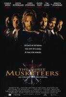 The Three Musketeers Theatrical Poster