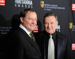 John Lasseter & Robin Williams at BAFTA Britannia Awards