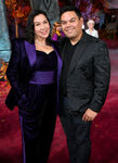 Robert & Kristen Lopez Frozen 2 premiere
