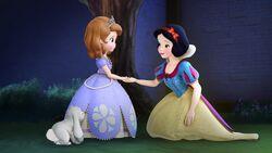 Biancaneve con Sofia