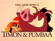 Timon and pumbaa-s