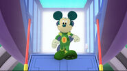 Martian mickey in mickey's sport y thon