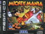 Mickey Mania - Mega CD Cover