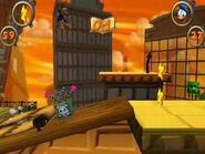Playthrough- Donald Duck - Goin' Quackers 14 - Duckburg - Roof Tops