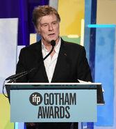 Robert Redford speaks at Gotham Awards